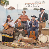 Temperamento. Traditional Music From Spain-Viguela-CD
