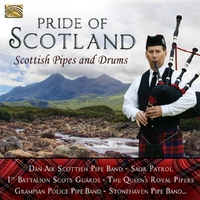 Pride Of Scotland. Scottish Pipes And Drums--CD