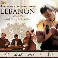 Instrumental Music From Lebanon. Amaken-Andre Hajj & Ensemble-CD