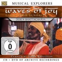 Musical Explorers: Waves Of Joy-Deben Bhattacharya-CD