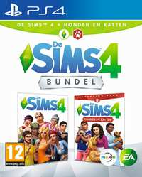Sims 4 + Honden En Katten-Sony PlayStation 4