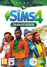 Sims 4 – 4 Jaargetijden (Code In A Box)-PC CD-DVD