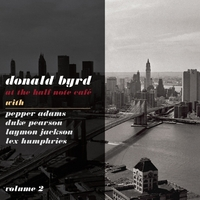At The Half Note Cafe, Vol. 2-Donald Byrd-CD