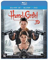 Hansel & Gretel: Witch Hunters (3D En 2D Blu-Ray + DVD)-3D Blu-Ray