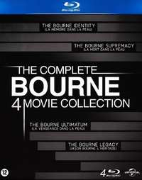 The Complete Bourne Blu-Ray Collection (1-4)-Blu-Ray