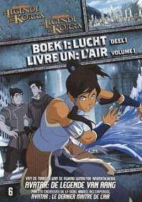 De Legende Van Korra - Boek 1 - Lucht Deel 1-DVD