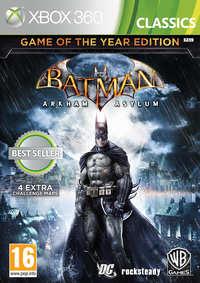 Batman - Arkham Asylum (Goty Edition)-Microsoft XBox 360