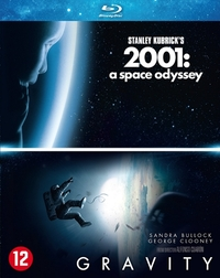 Gravity / 2001 A Space Odyssey-Blu-Ray