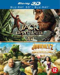 Jack The Giant Slayer / Journey 2 (3D En 2D Blu-Ray)-3D Blu-Ray