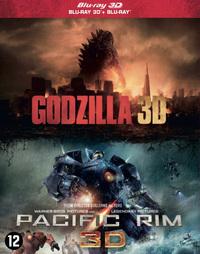 Godzilla / Pacific Rim (3D En 2D Blu-Ray)-3D Blu-Ray