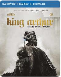 King Arthur: Legend Of The Sword - Steelbook (3D + 2D Blu-Ray)-3D Blu-Ray