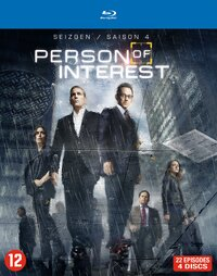 Person Of Interest - Seizoen 4-Blu-Ray