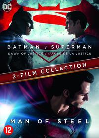 Batman V Superman - Dawn Of Justice + Man Of Steel-DVD