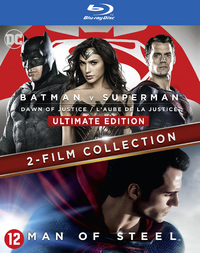 Batman V Superman - Dawn Of Justice + Man Of Steel-Blu-Ray