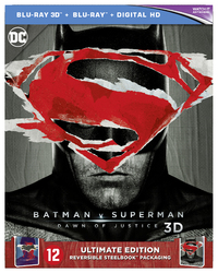 Batman V Superman - Dawn Of Justice (Ultimate Edition Steelbook) (3D En 2D Blu-Ray)-3D Blu-Ray