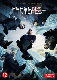 Person Of Interest - Seizoenen 1-4-DVD