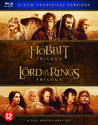 The Hobbit Trilogy & The Lord Of The Rings Trilogy-Blu-Ray
