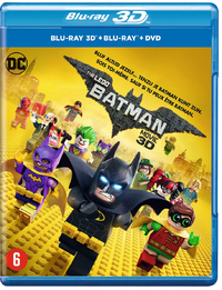 The Lego Batman Movie (3D + 2D Blu-Ray)-3D Blu-Ray