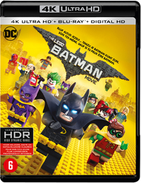 The Lego Batman Movie (4K Ultra HD En Blu-Ray)-4K Blu-Ray