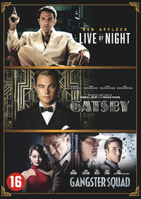 Live By Night / The Great Gatsby / Gangster Squad-DVD