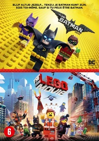 The Lego Batman Movie + The Lego Movie-DVD