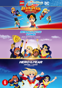 DC Super Hero Girls 1&2 + Lego DC Super Hero Girls-DVD
