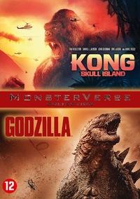 Kong - Skull Island + Godzilla-DVD