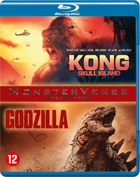 Kong - Skull Island + Godzilla-Blu-Ray