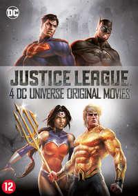 Justice League - 4 DC Universe Original Movies-DVD