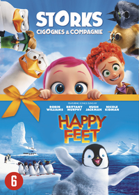 Storks + Happy Feet-DVD