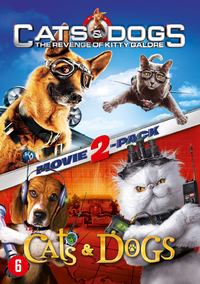 Cats & Dogs 1&2-DVD