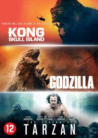 Godzilla / Kong: Skull Island / The Legend Of Tarzan-DVD