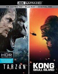 Kong: Skull Island + The Legend Of Tarzan (4K Ultra HD En Blu-Ray)-4K Blu-Ray