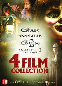 Annabelle 1+2 & The Conjuring 1+2-DVD