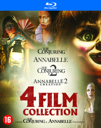 Annabelle 1+2 & The Conjuring 1+2-Blu-Ray