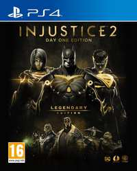 Injustice 2 - Legendary Edition (Day One Edition)-Sony PlayStation 4