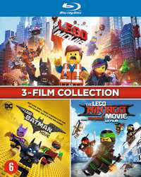 Lego 3-Film Collection-Blu-Ray