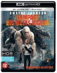 Rampage: Big Meets Bigger(4K Ultra HD En Blu-Ray)-4K Blu-Ray