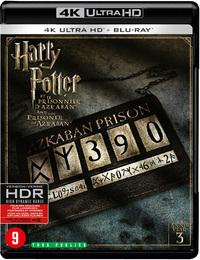 Harry Potter 3 - De Gevangene Van Azkaban-4K Blu-Ray