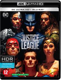 Justice League (4K Ultra HD En Blu-Ray)-4K Blu-Ray