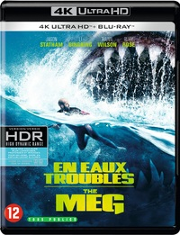 The Meg (4K Ultra HD + Blu-Ray)-4K Blu-Ray