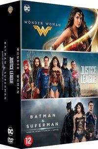 DC Comics Movie Box (3 Films)-DVD