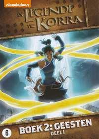 De Legende Van Korra - Boek 2 - Geesten Deel 1-DVD