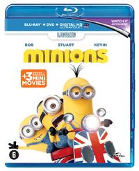 Minions (Blu-Ray En DVD)-Blu-Ray