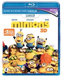 Minions (3D En 2D Blu-Ray + DVD)-3D Blu-Ray