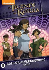 De Legende Van Korra - Boek 3 - Verandering Deel 1-DVD
