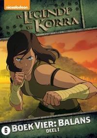 De Legende Van Korra - Boek 4 - Balans Deel 1-DVD