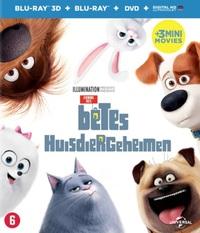 Huisdiergeheimen (3D En 2D Blu-Ray + DVD)-3D Blu-Ray