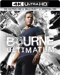 The Bourne Ultimatum-4K Blu-Ray