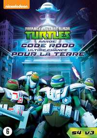 Teenage Mutant Ninja Turtles - Aarde Code Rood-DVD